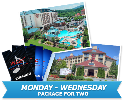 Monday wednesday package for two