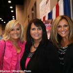 Karen Peck Gooch, Susan Peck Jackson and Kelly Nelon Clark