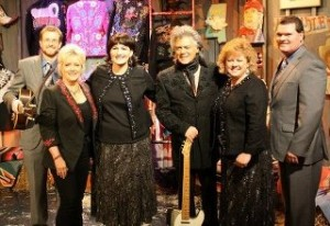The Chuck Wagon Gang after their performance on The Marty Stuart Show.