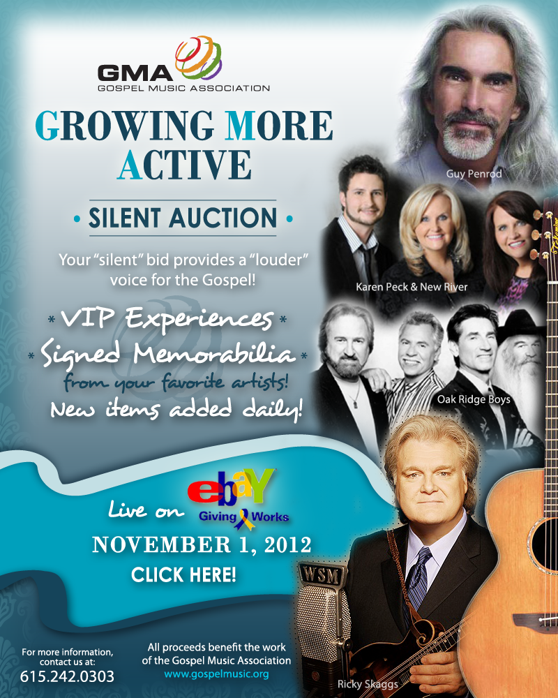 GMA's Growing More Active silent auction on eBay